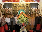 Vietnam Buddhist Sangha congratulated on Vu Lan festival