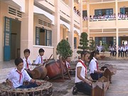 Soc Trang: Khmer ethnic pupils enjoy new school
