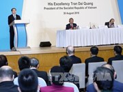 Vietnamese President addresses Singapore Lecture