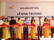 VNPost launches international post centre in Hanoi