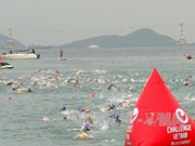 Australian man, Swedish woman victorious at Vietnam Challenge triathal