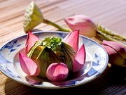 Lotus takes pride of place in Hue's royal gastronomy