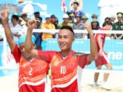 ABG5: Vietnam leads medal table after first competition day