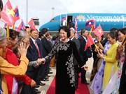 National Assembly leader begins Laos visit