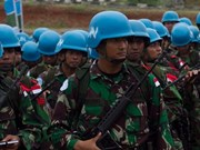Indonesia to increase peacekeeping personnel