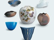Japanese artists exhibit contemporary pottery