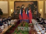China, Philippines sign deals worth 13.5 billion USD