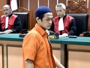 Indonesia sentences bomb attacker eight years in jail