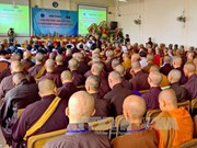 Seminar looks into Buddhist Sangha's 35-year development