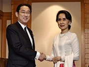 Japan, Myanmar agree to cooperate in solving ethnic conflicts