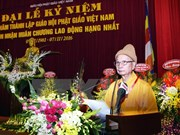 Vietnam Buddhist Sangha marks 35th anniversary