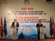 Vietnam, EU basically end negotiations on bilateral FTA
