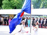 Flag raised in Hanoi to mark ASEAN founding anniversary