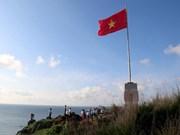 Sovereignty flag pole unveiled on Phu Quy Island