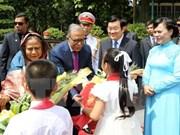 Bangladeshi President rounds off State visit to Vietnam