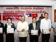 First Vietnamese course for Lao police officers concludes