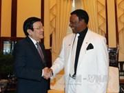 President receives outgoing Nigerian Ambassador