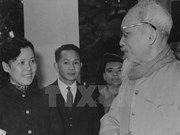 Country's leaders with Vietnam News Agency in the 1960-1970 period