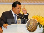 Cambodian PM supports arrest of Senator distorting border treaty
