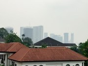 Singapore air suffering from smoke