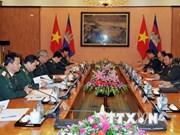 Vietnam, Cambodia's military officials discuss cooperation