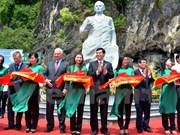 Statue of Soviet cosmonaut Titov revealed in Ha Long Bay