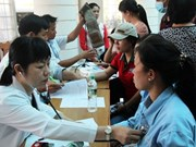 Few jobs provide medical checks