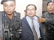 Phnom Penh court denies bail to fake treaty-related Senator