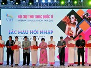 International fashion fair opens in HCM City
