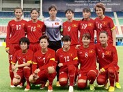 Vietnam women football a little closer to Olympics