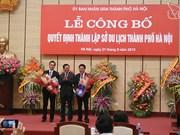 Hanoi debuts municipal Department of Tourism