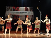 Vietnamese students introduced to Maori dance