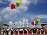 Myanmar opens 1.5 billion USD economic zone