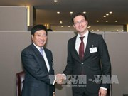 Bulgarian, Danish FMs talk cooperation with Vietnam