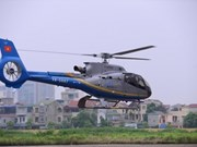 Vietnam helicopter tourism begins