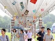 Book Festival bustling in Thang Long royal citadel