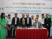 Dutch dairy producer backs Vietnam in environmental protection
