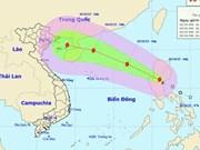 Tropical storm Mujigae enters East Sea
