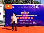 Overseas Vietnamese's sport festival enhances solidarity