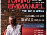 Guitarist Tommy Emmanual to perform in Hanoi