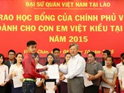 Vietnamese Gov't scholarships granted to OV students in Laos