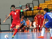 Vietnam ease into futsal semi-finals