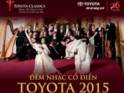 Toyota Classics 2015 takes to stage in Hanoi