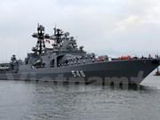 Russian Navy fleet visits Da Nang city