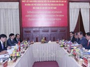 Vietnamese, Lao People's Courts intensify cooperation