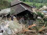 Three go missing in flood-triggered landslide in Cao Bang
