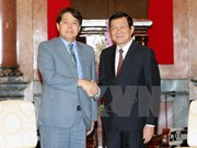 State leader welcomes Japan's agriculture minister