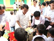 VNA supports school in Tuyen Quang