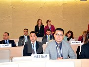 Vietnam active at Human Rights Council's 30th session