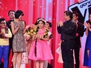 Da Nang's girl masters The Voice Kids